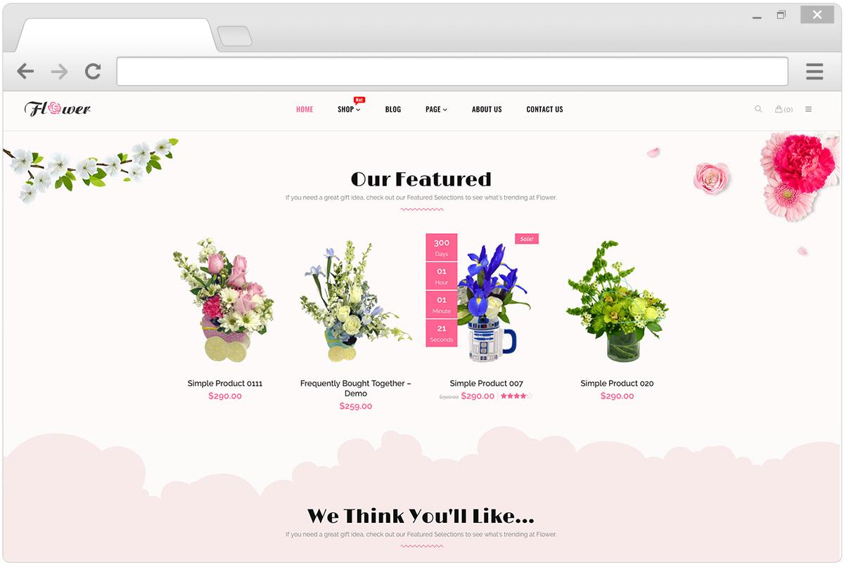 Darmowe motywy kwiaty
